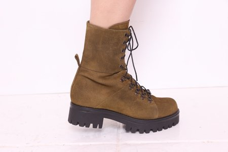 """""""INTENTIONALLY __________."""" Incline Boot - Khaki Suede"""