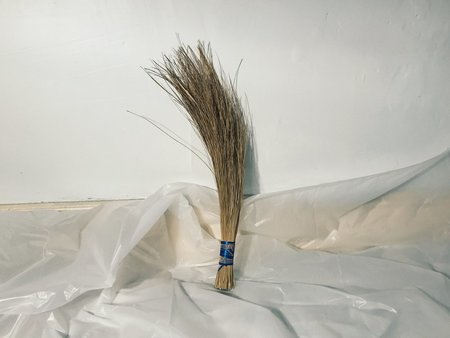 Good Medicine Vintage Grass Hand Broom