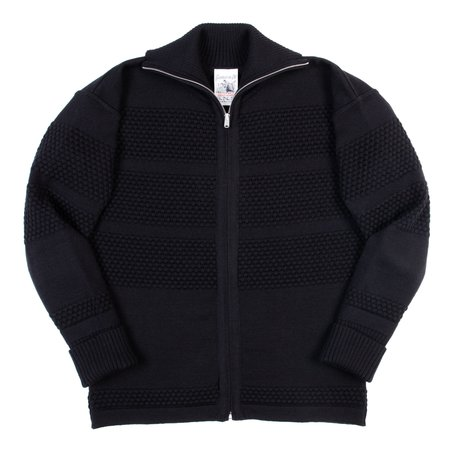 S.N.S. Herning Fisherman Full Zip - Black