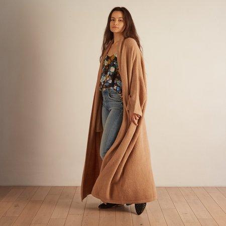 Atelier Delphine Haori Coat - Nude Rose