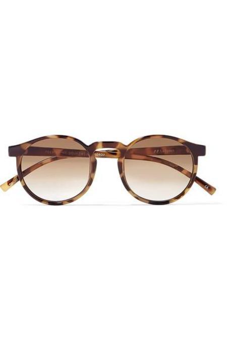 Le Specs Teen Spirit Deux Acetate Sunglasses - Tortoiseshell