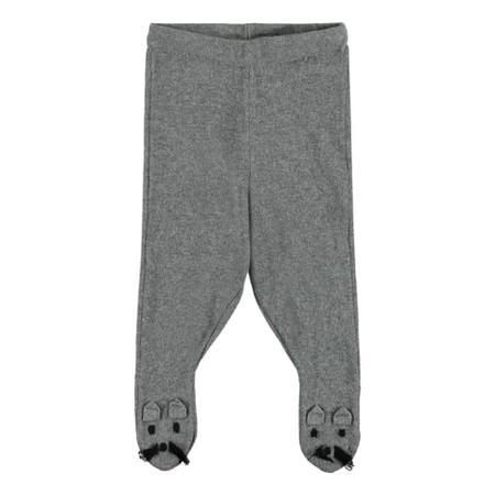 KIDS Stella McCartney Baby Snowflake Pants With Feet - Mouse Grey