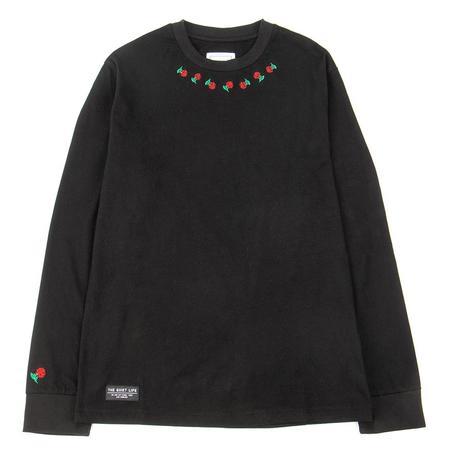 Quiet Life Rosary Long Sleeve T-shirt - Black
