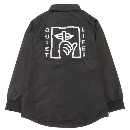 Quiet Life Shatter Monsoon Jacket - Black
