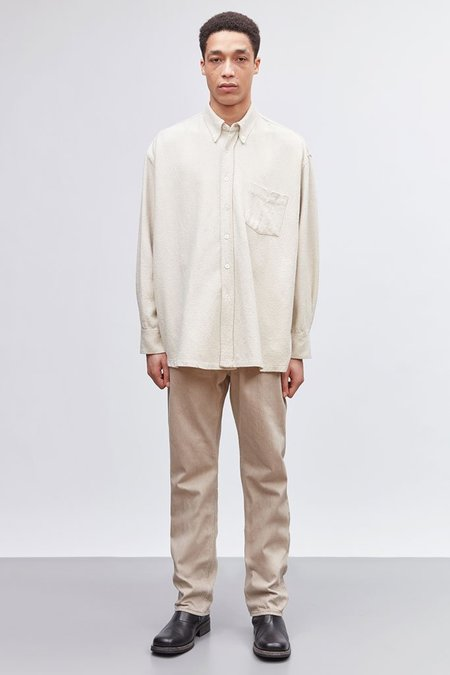 Our Legacy Borrowed BD Shirt - White