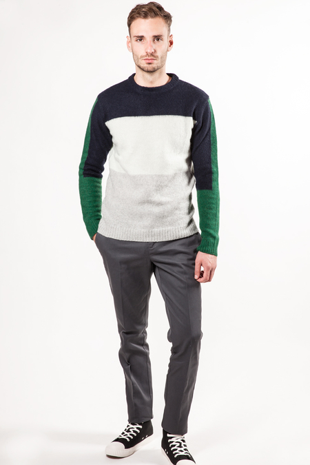 Wool&Co Colorblock Sweater