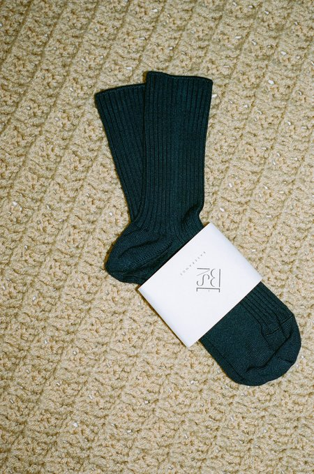 Baserange Over Ankle Socks - Midnight Blue