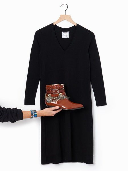 M.Patmos Boston Dress - Black