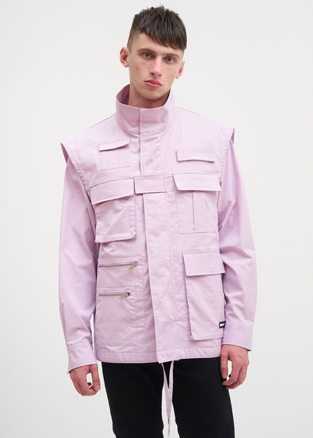 Ambush NOBO Fishing Vest Jacket - Pink
