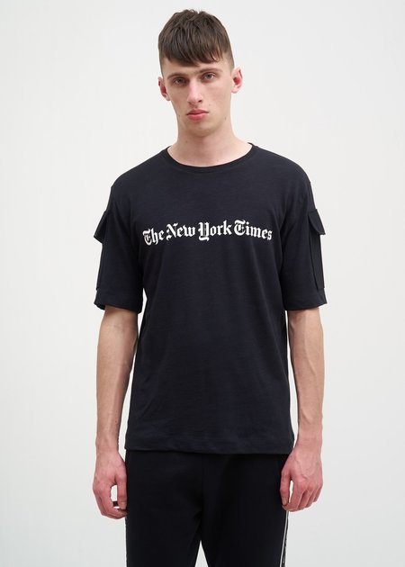 Études The New York Times Edition Unity T-Shirt - Black