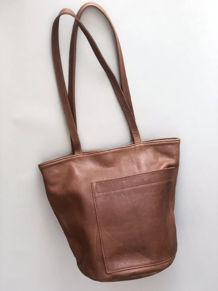Erin Templeton Bucket Bag - Caramel