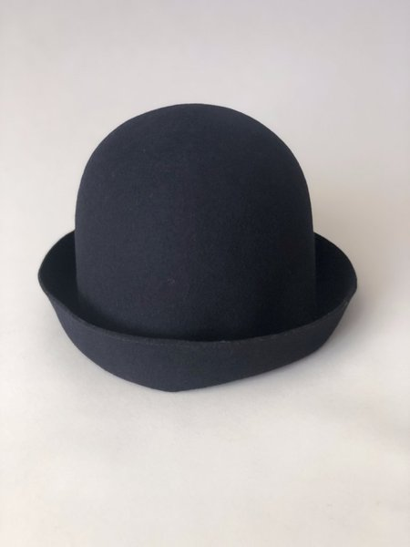 Mature Hat Wool Free Hat - Navy