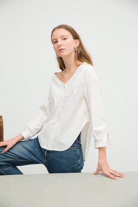 Sherie Muijs No. 25 Shirt - Vintage White