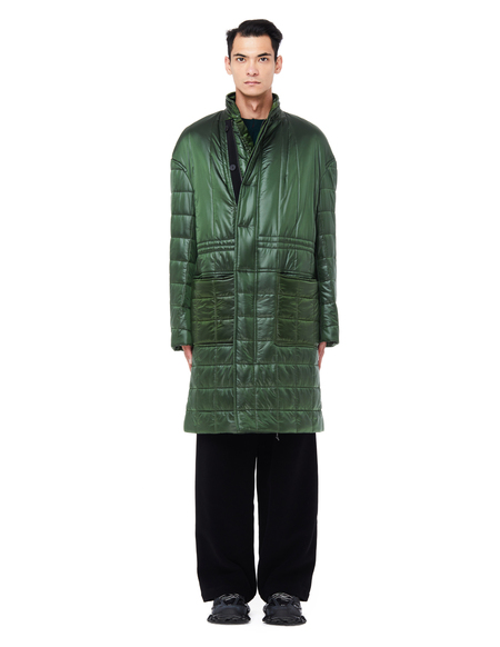 Haider Ackermann Quilted Coat With Stand-Up Collar