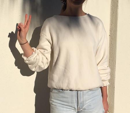 Plante Girly Sweatshirt - Natural