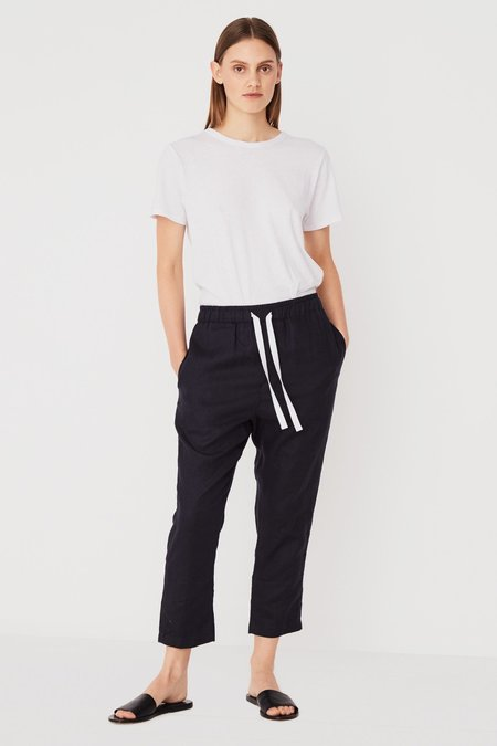 Assembly Label Anya Linen Pant - Deep Ink
