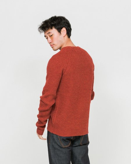 SUIT Iron Sweater - Dusty Red