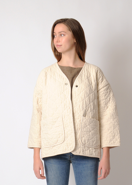 Micaela Greg Quilted Jacket - Cream