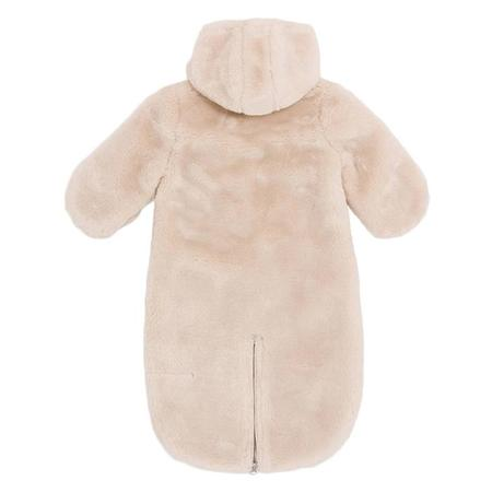 KIDS Bonton Baby Pilote Faux Fur Snowsuit - Off-White