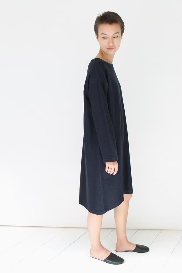 Revisited Sweatshirt Dress | navy