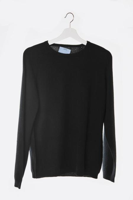 Oyuna Knitted Cashmere Pullover - Black