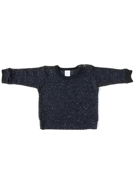 KIDS North of West Kids Pebble Knit Sweatshirt - Black