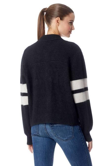 360 Cashmere Nancy Bomber Style Jacket
