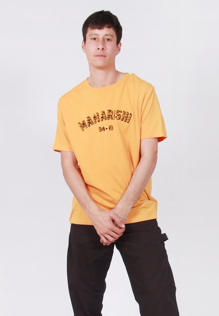 Maharishi Tiger Style T-Shirt - Tron Orange