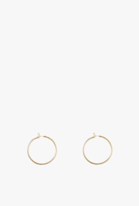 GJenmi LA Small Hoop Earrings - 14k Gold