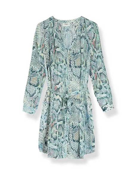Pyrus Tenor Shirt Dress - Python