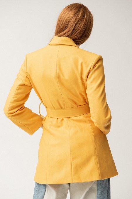 Tach Rita Wool Jacket - Yellow