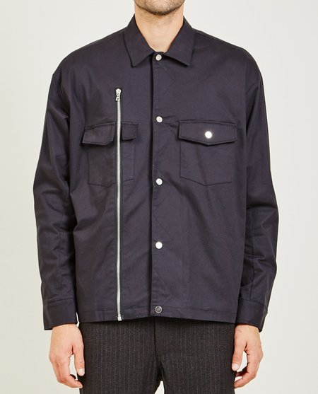 Stampd ASHER SHIRT JACKET - BLACK