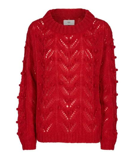 MINIMUM MARIAM JUMPER - CHILI PEPPER