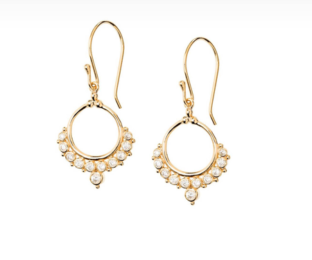 Shashi Cara Drop Earrings - Gold