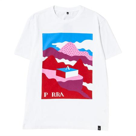 by Parra Lost City Box T-shirt - White