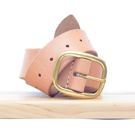 Made Solid Belt - Natural