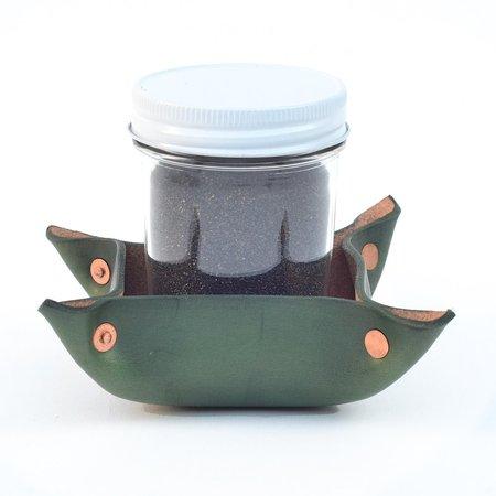 Made Solid Sand Incense Burner - Green