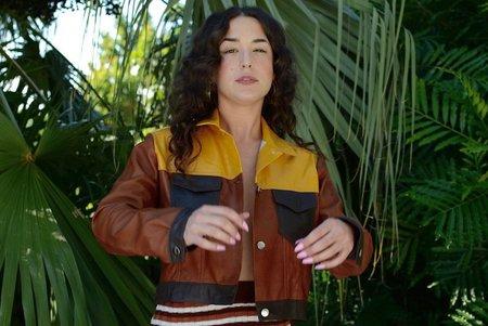 Tach Viola Leather Jacket