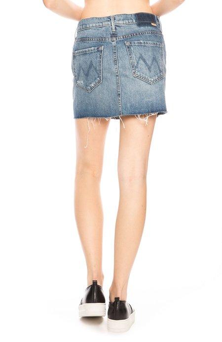 Mother Denim Vagabond Mini Skirt - Lightning Strikes