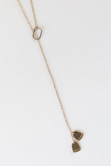 ELLEN MOTE Palva Necklace - bronze