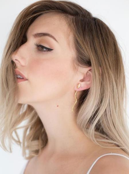 Nina Berenato Duality Snake Earrings