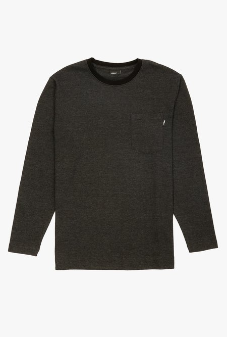 Publish Tainer long sleeve Knit tee - black