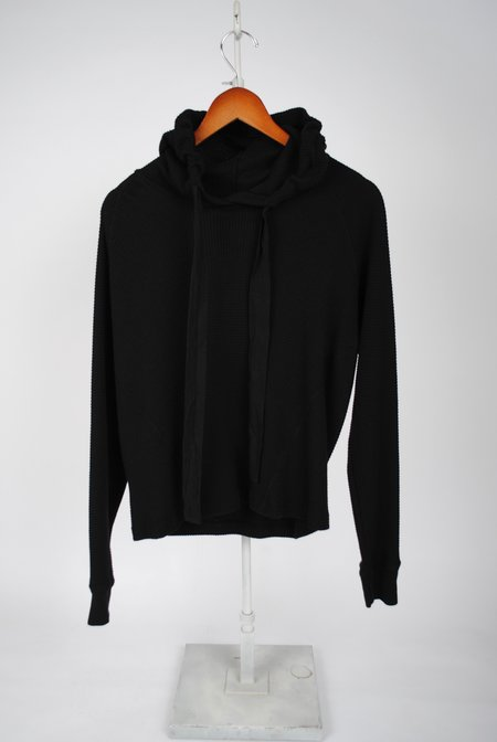 Stateside Thermal Hoodie - BLACK