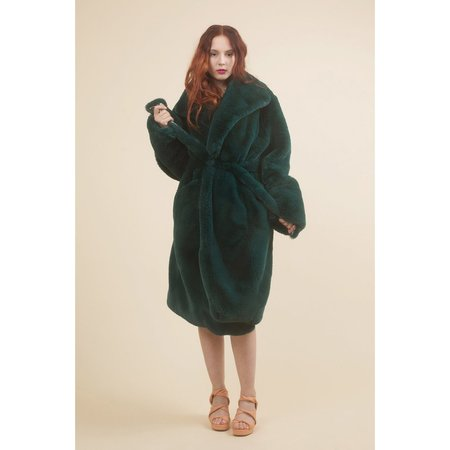 Samantha Pleet Sovereign Coat - Emerald
