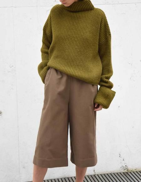 Asciari Milano Iperico Pants - Mud Brown