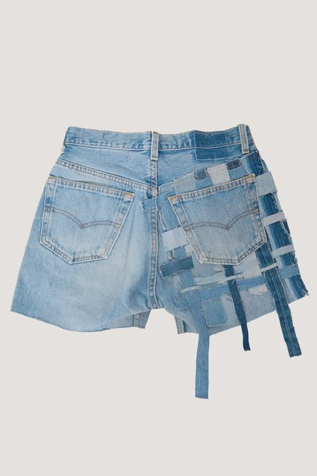 ANTIDOTE x WYLDE Denim Shorts - Vintage light wash