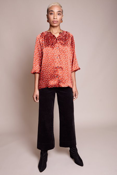 Tucker The Classic Blouse - Mod Dot