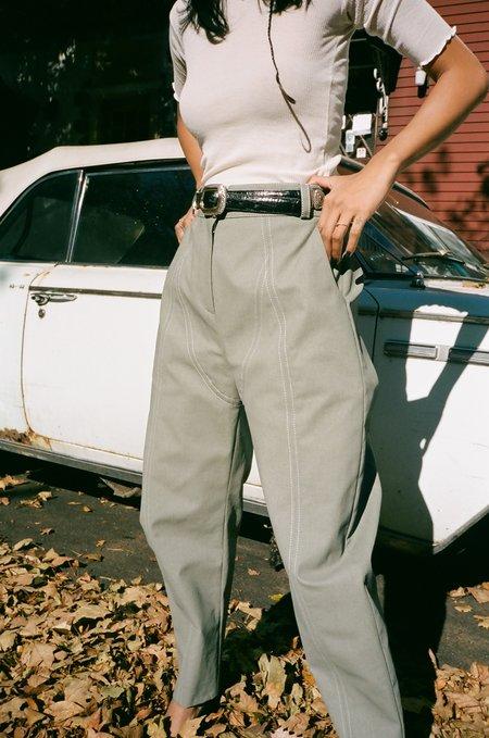 J. Kim Haenyeo Pant -  Light Green Gray