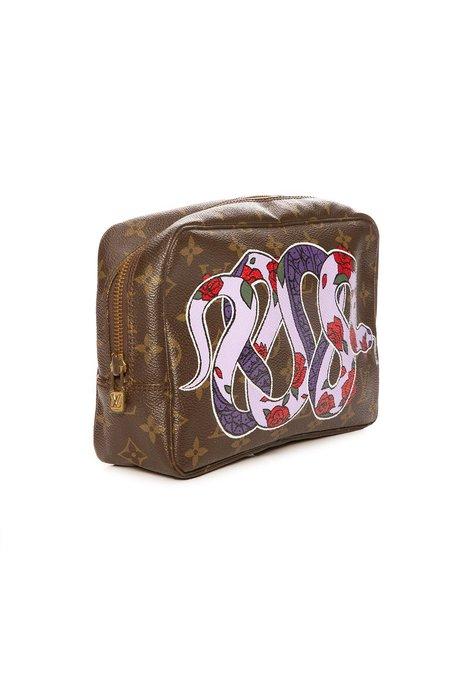 New Vintage LV Trosse Toilette 23 Travel Pouch - Snake