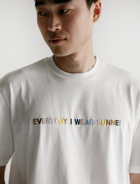 Sunnei Everyday I Wear Sunnei T-Shirt